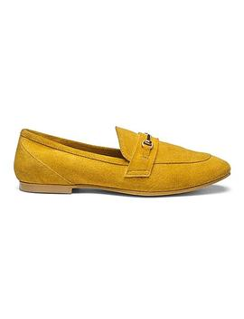 suede-trim-detail-loafers by simply-be
