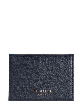 braylon-pebbled-leather-card-case by ted-baker-london
