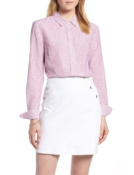 button-up-stripe-shirt by 1901