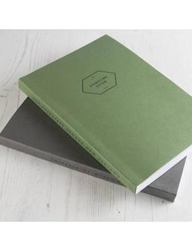 personalised-notebook,-a5-notebook,-personalised-spine-notebook,-faux-leather-notebook,-personalised-journal,-custom-journal,-bullet-journal by etsy