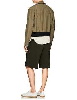 asbury-canvas-bomber-jacket by eidos