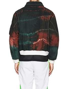 tie-dyed-cotton-bomber-jacket by gosha-rubchinskiy