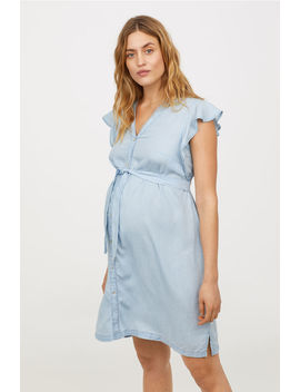 mama-vestido-em-lyocell by h&m