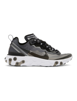 black-react-element-87-sneakers by nike
