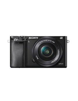 sony-alpha-6000-fotocamera-mirrorless,-obiettivo-intercambiabile,-sensore-aps-c-cmos-exmor-hd-da-243-mp,-obiettivo-da-16-50-mm,-nero by sony