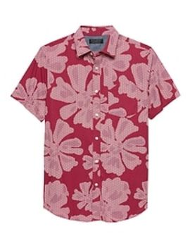 print-slim-fit-soft-wash-shirt by banana-republic-factory