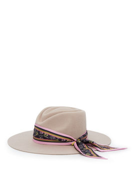 Henri Bendel Graffiti Fedora by Henri Bendel