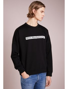 drop-shoulder-logo----sweater by white-mountaineering