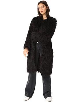 moxie-faux-fur-coat by nili-lotan