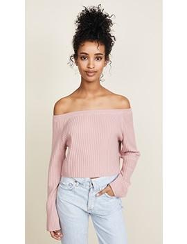 maja-off-shoulder-sweater by sablyn