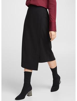 asymmetric-wrap-style-skirt by icôneicônenikeicônesimons