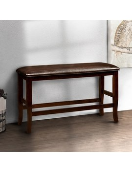furniture-of-america-clemmine-espresso-wood-counter by furniture-of-america