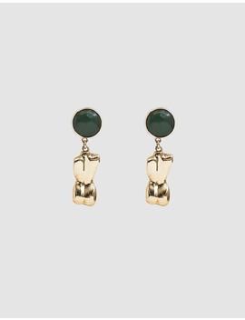 bod-drop-earring-in-bronze by faris