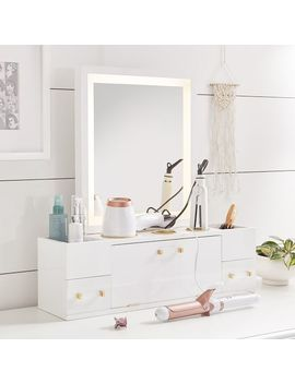 light-up-beauty-storage-mirror by pbteen