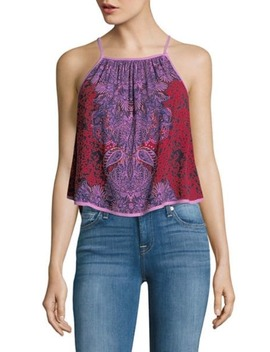 Eternal Love Embroidered Cotton Top by Free People