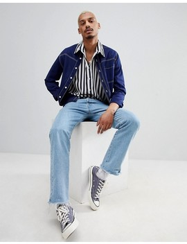milk-it-shirt-in-blue-stripe by milk-it