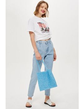 moto-bleach-pleated-mom-jeans by topshop