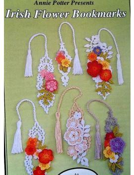 crochet--irish-flower-bookmarks--patterns--annie-potter-presents by annie-potter-presents