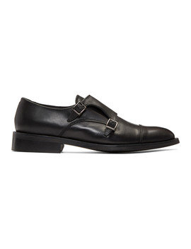 black-thoren-monkstrap-shoes by tiger-of-sweden