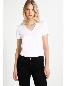 Neck Tee   Basic T Shirt by Lacoste