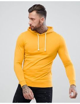 troy-over-head-hood-sweat-in-washed-mustard by hoodie