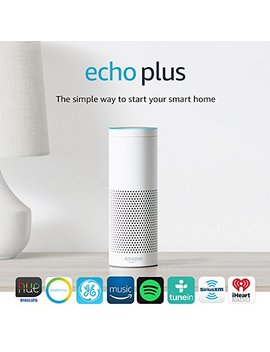 echo-plus-with-built-in-hub-–-white-+-philips-hue-bulb-included by amazon