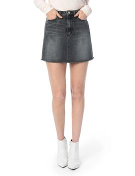 bella-frayed-hem-denim-skirt by joes