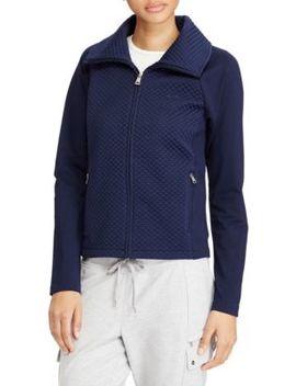 quilted-stretch-cotton-jacket by lauren-ralph-lauren