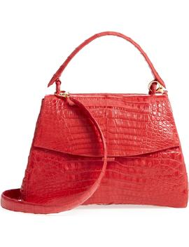 genuine-crocodile-top-handle-bag by nancy-gonzalez