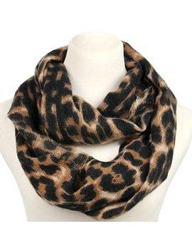 la-carrie-womens-leopard-print-infinity-scarf-loop-circle-neck-warmer by la-carrie