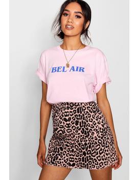 petite-belle-air-slogan-t-shirt by boohoo