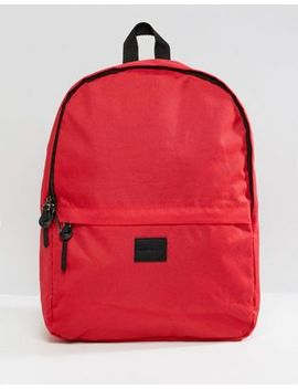 asos-design-backpack-in-red by asos-design