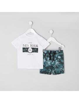 mini-boys-white-'new-york'-t-shirt-outfit by river-island