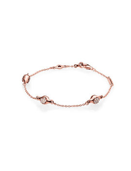 modern-lovepods-pandora-rose-bracelet,-clear-cz by pandora