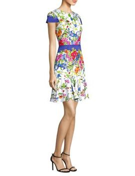 karissa-floral-dress by milly