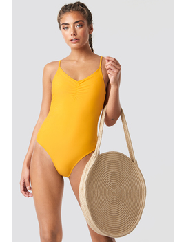 basic-front-ruched-swimsuit by na-kd