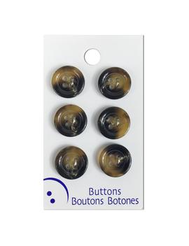 blumenthal-lansing-tortoise-buttons,-6-pack by blumenthal-lansing