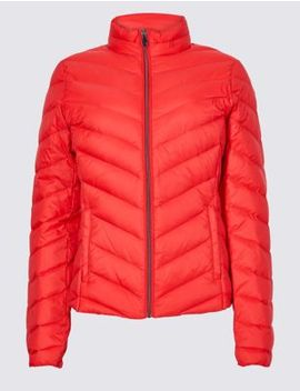 Lightweight Down &Amp; Feather Jacket With Stormwear™ by Marks & Spencer