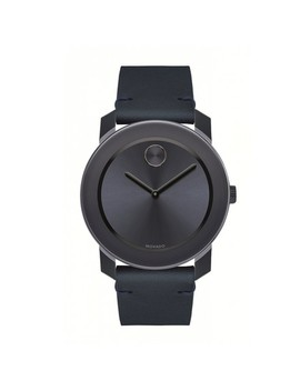 blue-mens-bold-dial-ip-leather-strap-42mm-3600370-watch by movado