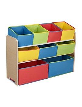 delta-children-multi-color-deluxe-toy-organizer-with-storage-bins by delta-children