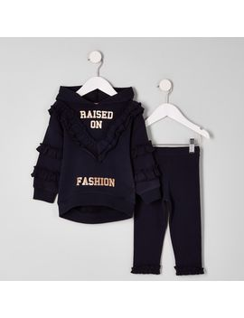 mini-girls-navy-fashion-hoodie-outfit by river-island