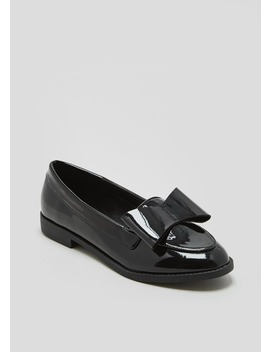 patent-bow-loafers by matalan