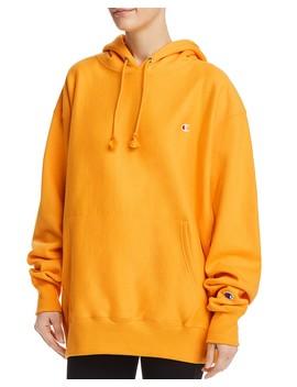 fleece-hooded-sweatshirt- by champion
