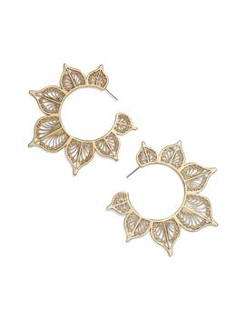 autumn-hoop-earrings by baublebar