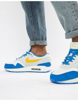 nike-air-max-1-trainers-in-blue-ah8145-108 by nike