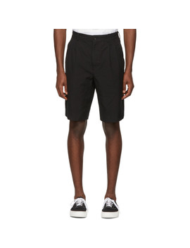 black-twill-shorts by comme-des-garÇons-homme