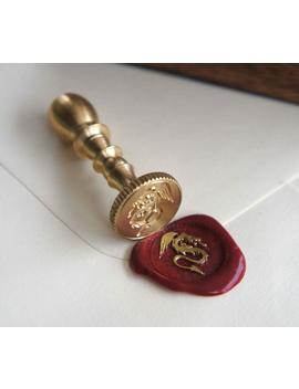 mini-seal-with-engraved-brass-seal-including-dragon-design by amazon