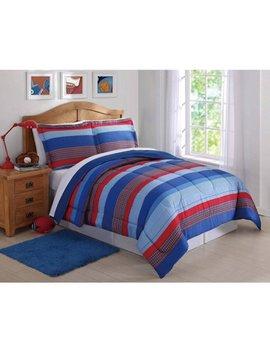 kids-bastian-stripe-comforter-set by laura-hart-kids