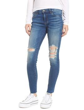 emma-raw-hem-ankle-skinny-jeans by sts-blue