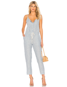 linen-strappy-jumpsuit by enza-costa